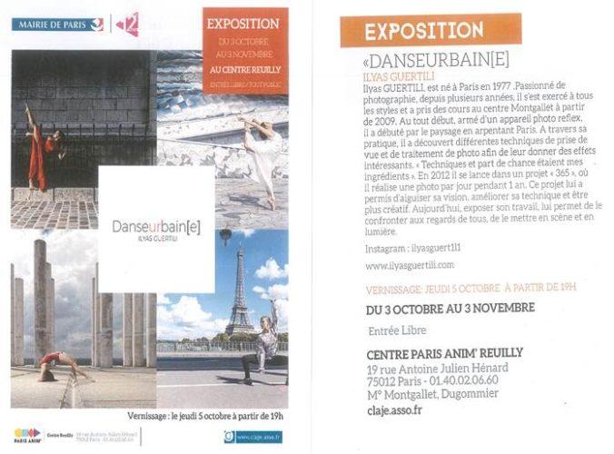 affiche de l'expo à paris 12 en 2017