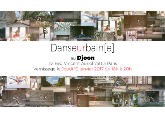affiche de l'expo au djoon à paris 13 en 2017