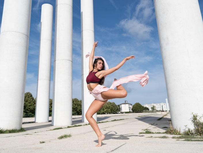 danseuse maiewenn aux 12 colonnesde cergy
